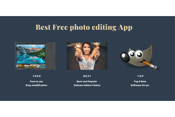 Best free photo editor software for pc