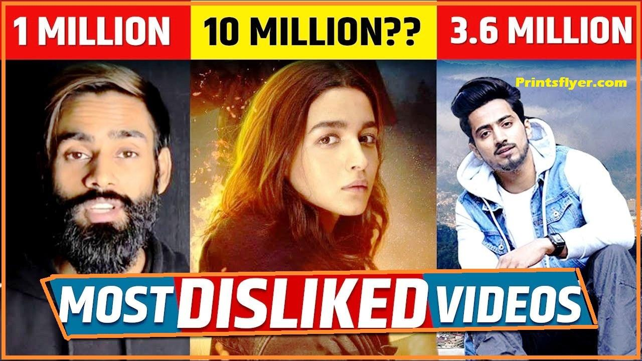 Most Disliked Video on Youtube in India 2021