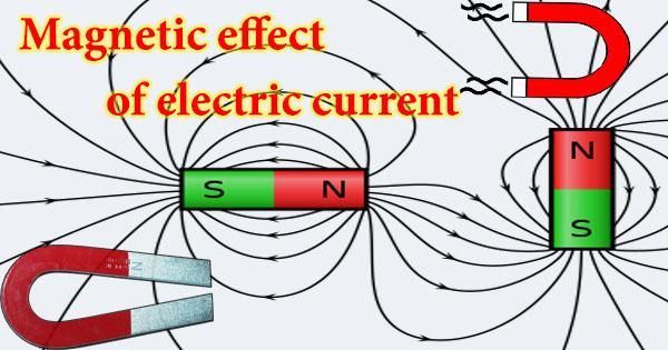Magnetic effect of electric current 2020