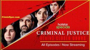 Criminal Justice Filmyzilla
