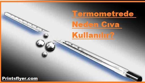 Termometrede Neden Cıva Kullanılır