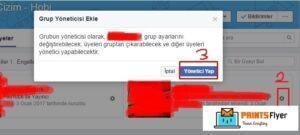 facebook grup yönetici ayarları